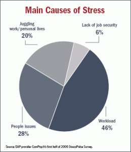 Main Causes of Stress