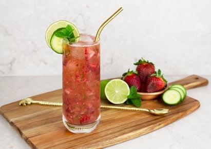strawberry-cucumber-cooler-mocktail